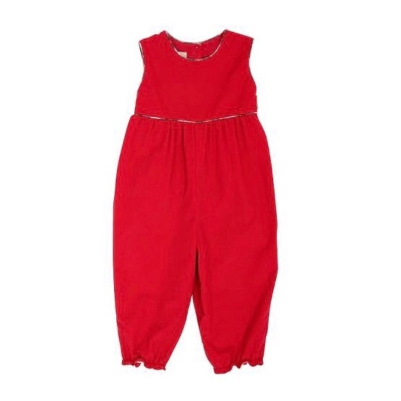 THE BEAUFORT BONNET COMPANY SLVLSS REBECCA ROMPER- CORDUROY