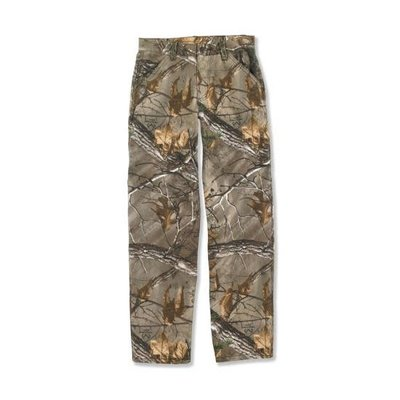 CARHARTT CAMO CANVAS DUNGAREE