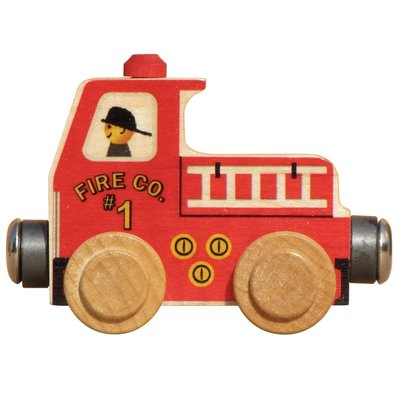 MAPLE LANDMARK NAMETRAIN FIRE TRUCK