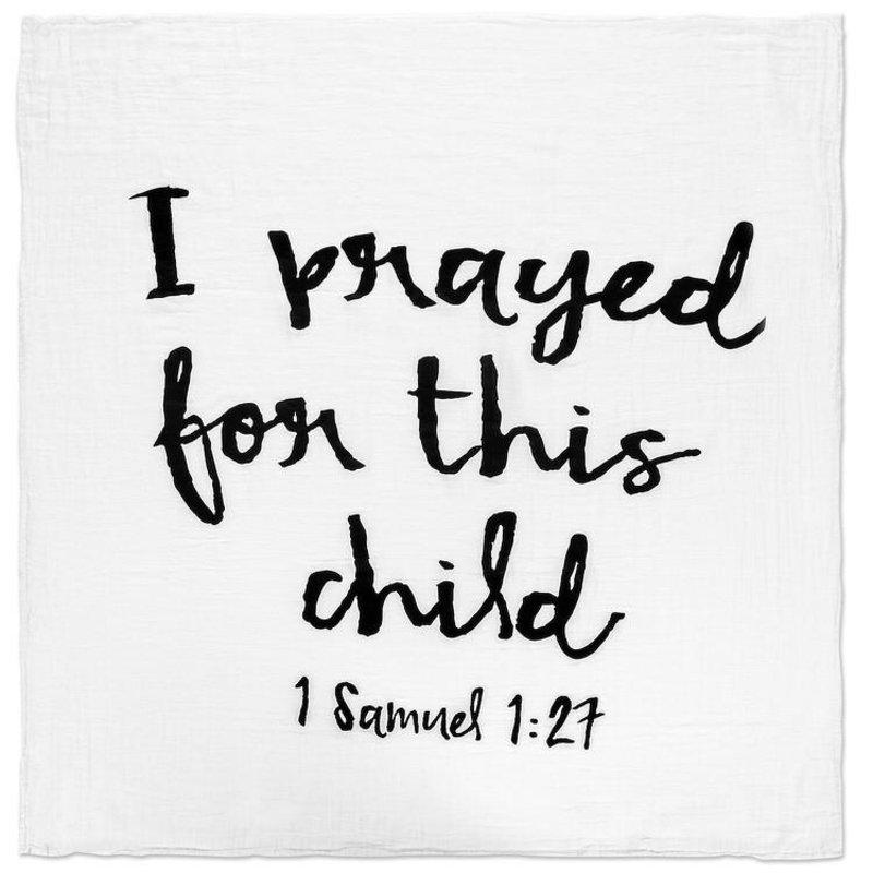 MODERN BURLAP 1 SAMUEL 1:27 SWADDLE