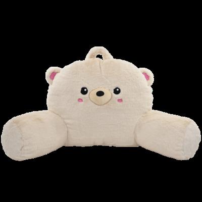 ISCREAM TEDDY BEAR FURRY LOUNGE PILLOW