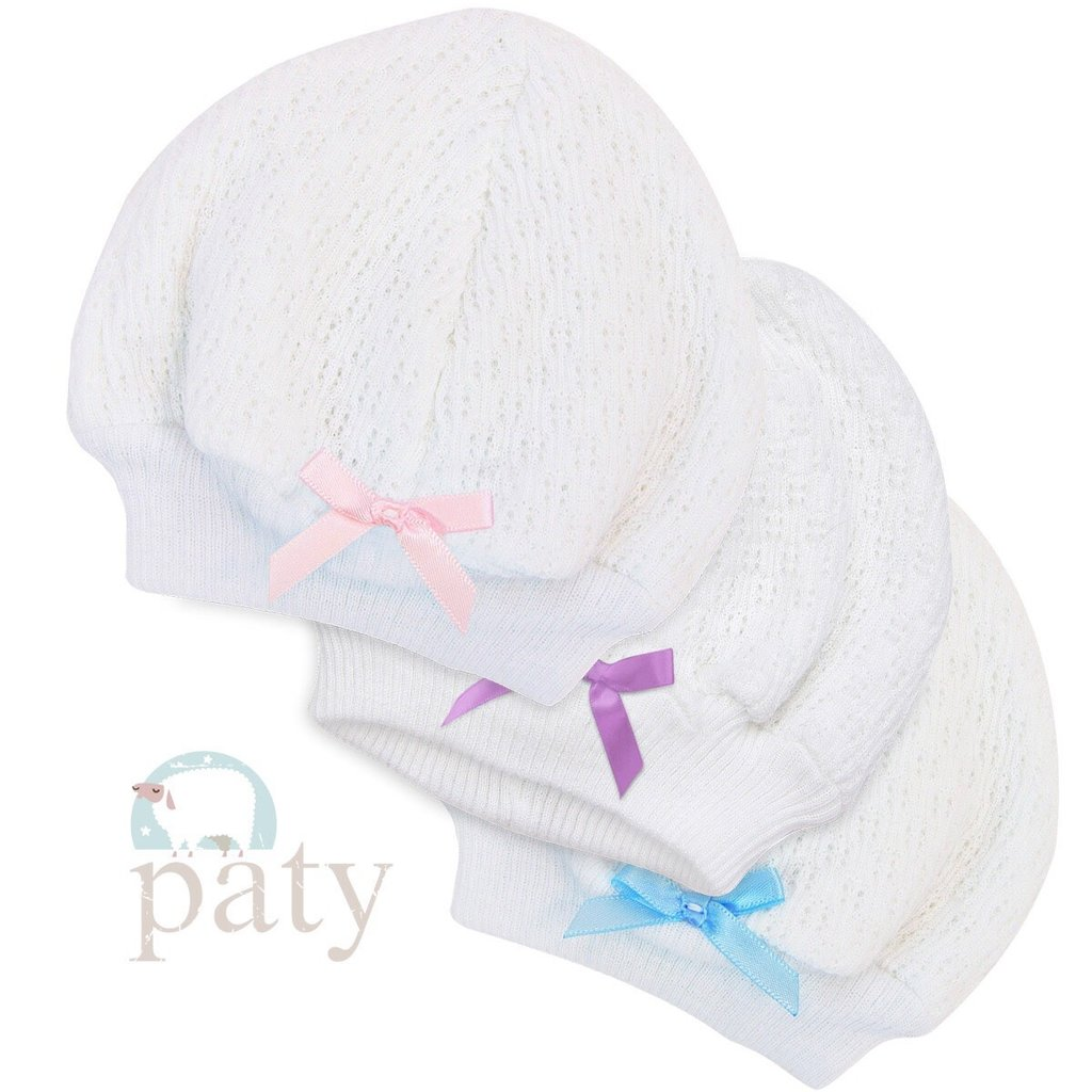 PATY BEANIE CAP WITH BOW