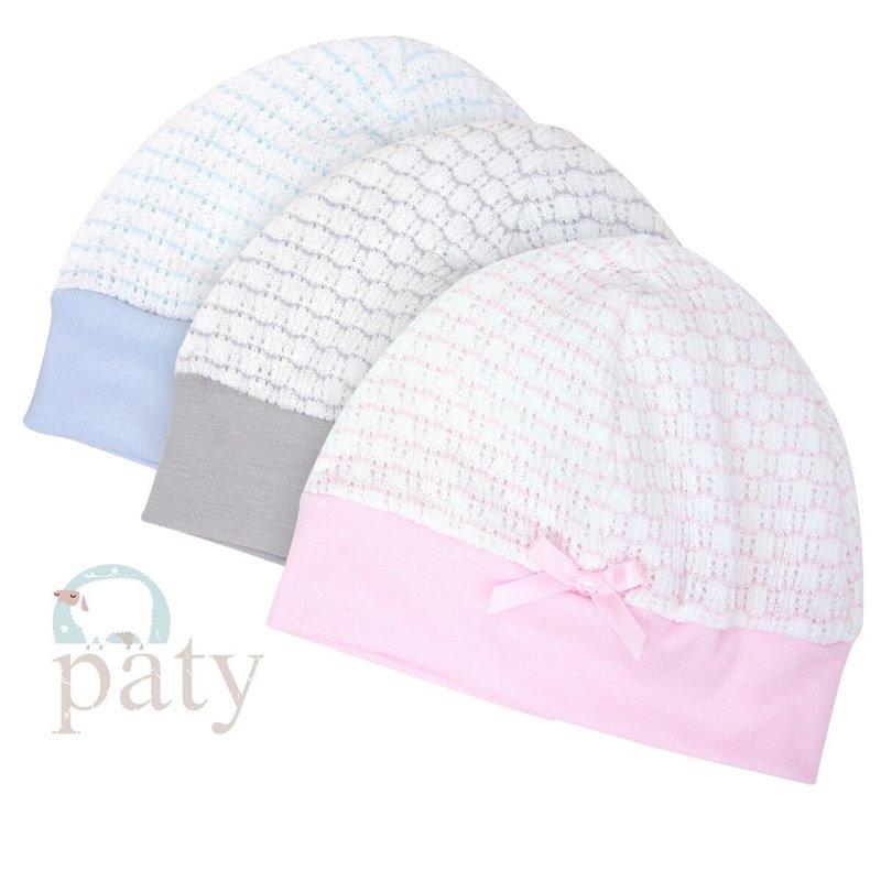 PATY PINSTRIPE BEANIE CAP
