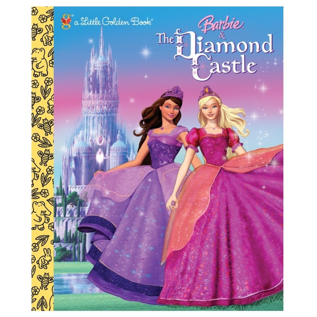 PENGUIN RANDOM HOUSE BARBIE AND THE DIAMOND CASTLE LGB