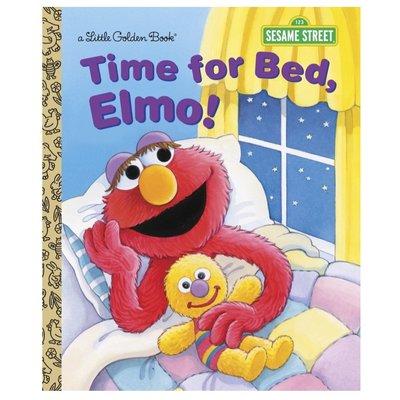 PENGUIN RANDOM HOUSE TIME FOR BED, ELMO! LGB