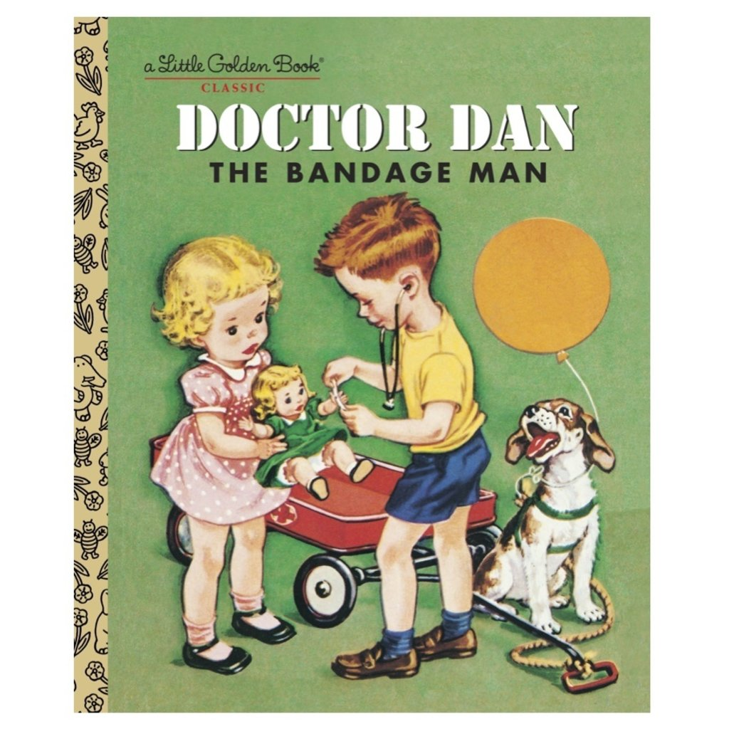 PENGUIN RANDOM HOUSE DOCTOR DAN THE BANDAGE MAN LGB