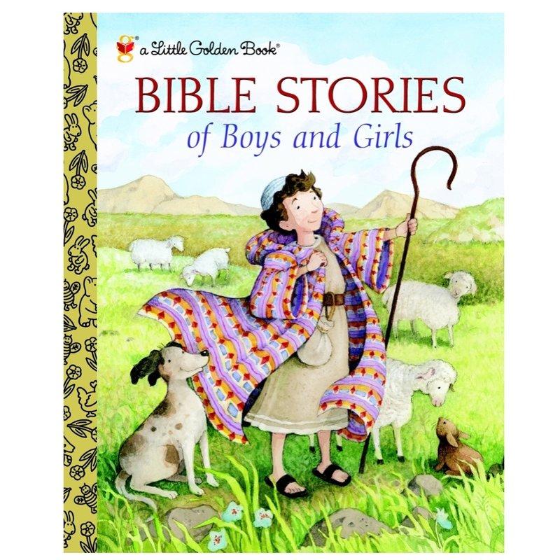 PENGUIN RANDOM HOUSE BIBLE STORIES OF BOYS AND GIRLS LGB