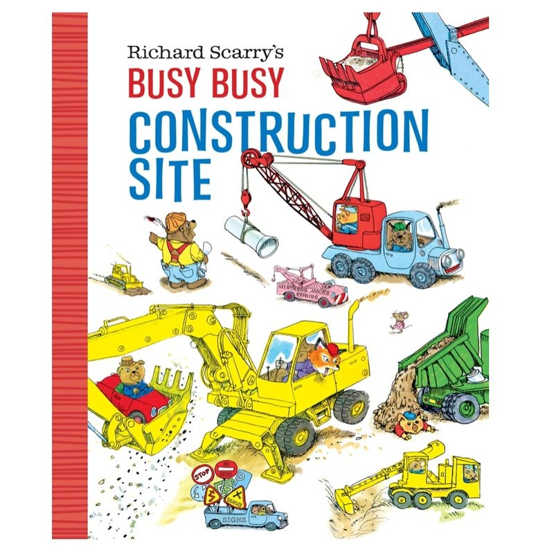 PENGUIN RANDOM HOUSE BUSY BUSY CONSTRUCTION SITE