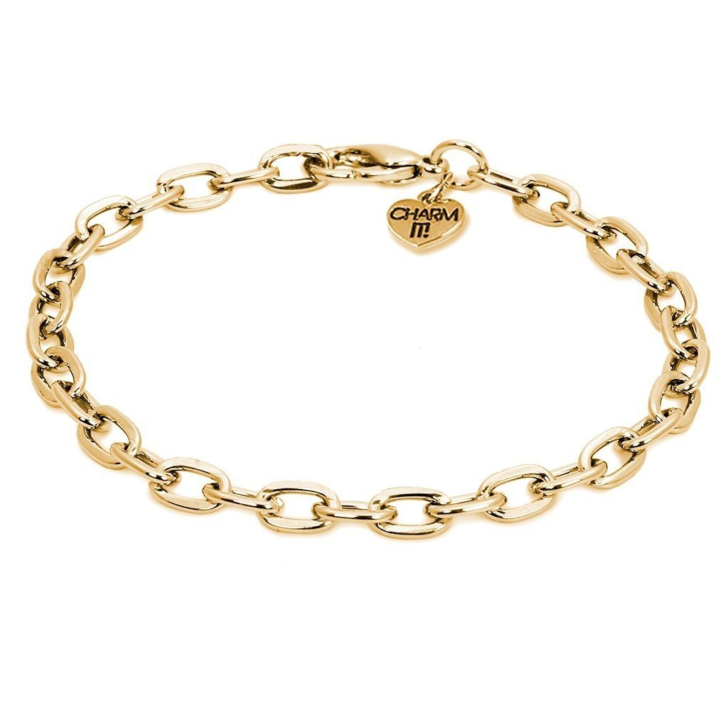 CHARM IT! CHARM IT! GOLD CHAIN BRACELET