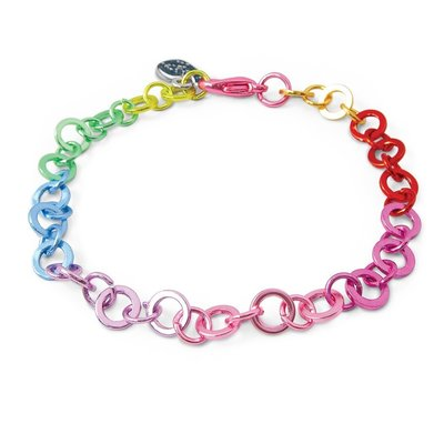 CHARM IT! CHARM IT! RAINBOW CHAIN BRACELET