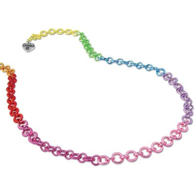CHARM IT! CHARM IT! RAINBOW CHAIN NECKLACE