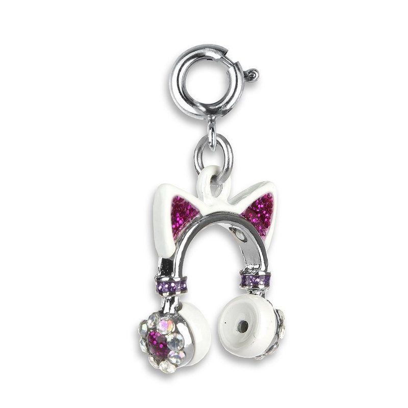 CHARM IT! KITTY EARS HEADPHONES CHARM