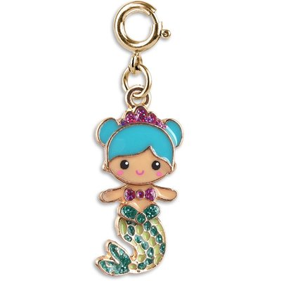 CHARM IT! GOLD SWIVEL MERMAID CHARM