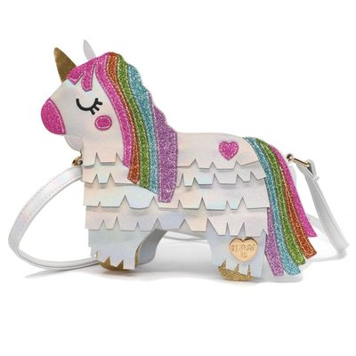 CHARM IT! CHARM IT! UNICORN PINATA CHARM BAG
