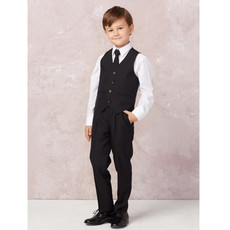 BOY'S SLIM FIT 5 PIECE SUIT