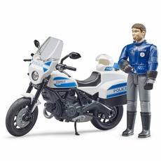 BRUDER SCRAMBLER DUCATI POLICE