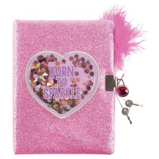 3C4G 3C4G BORN TO SPARKLE GLITTER/CONFETTI JOURNAL