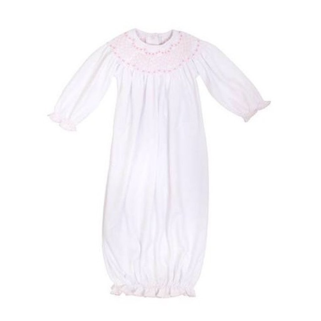 THE BEAUFORT BONNET COMPANY SWEETLY SMOCKED GREETING GOWN
