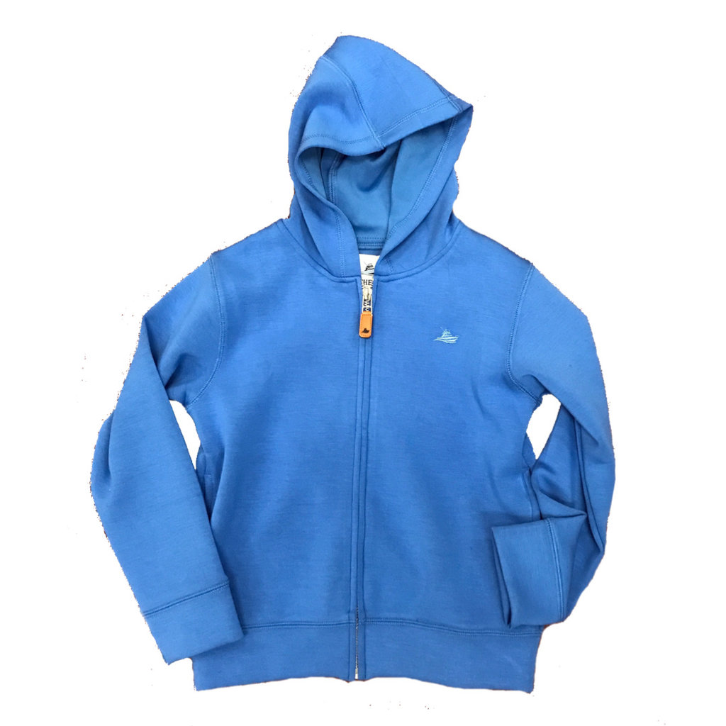 SOUTHBOUND FULL ZIP HOODIE- ROYAL BLUE