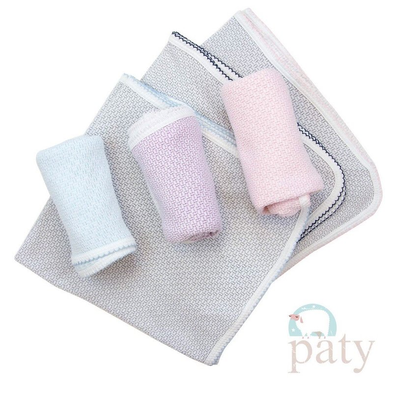 PATY RECEIVING BLANKET- SOLID