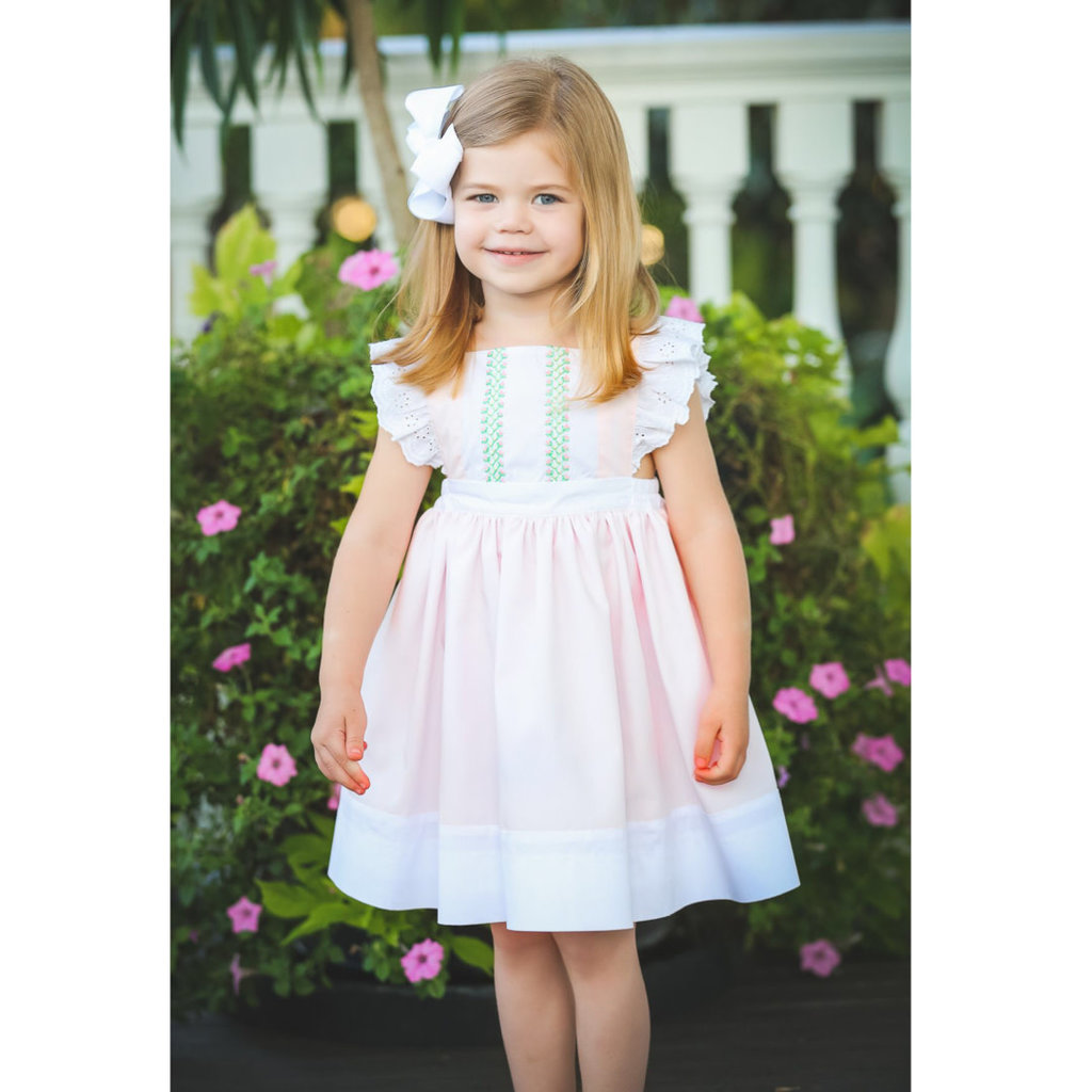 THE PROPER PEONY CECILY PINAFORE