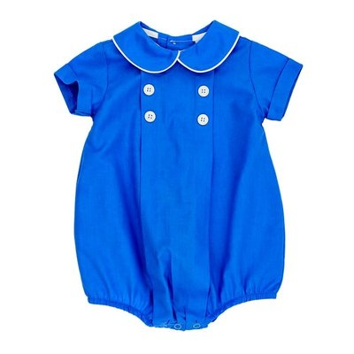 BAILEY BOYS MORNING GLORY DRESSY BUBBLE- PERIWINKLE