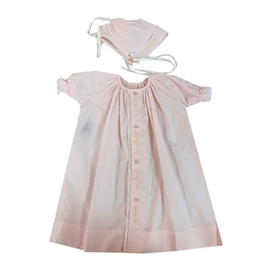 LULLABY SET VINTAGE DAYGOWN SET- PINK