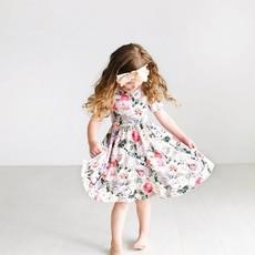 POSH PEANUT CASSIE - SS BASIC TWIRL DRESS