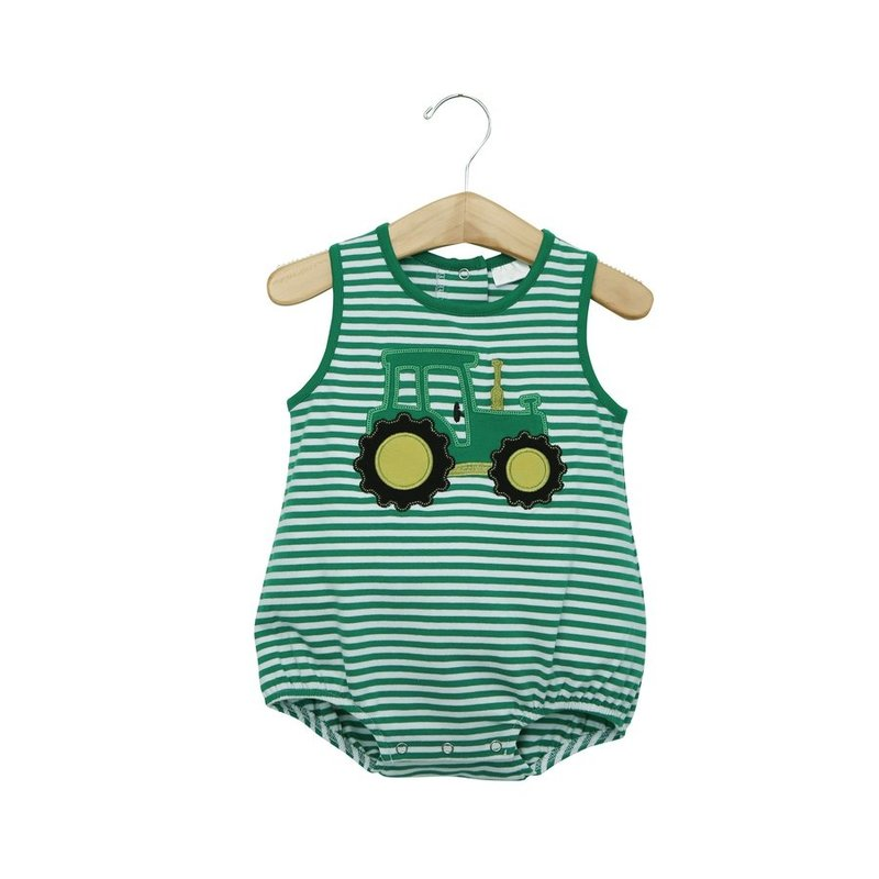 TROTTER STREET KIDS BOYS TRACTOR SLEEVELESS BUBBLE