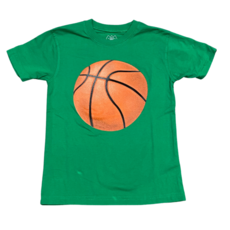 WES AND WILLY BASKETBALL SS TEE- CLOVER