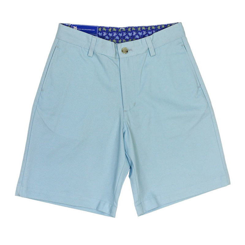 J.BAILEY TWILL SHORT- ICE BLUE