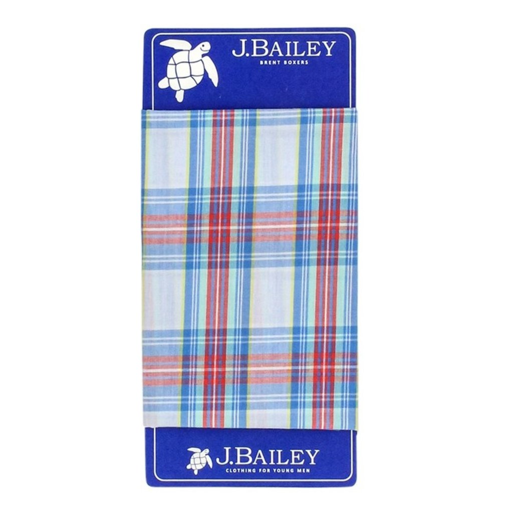 J.BAILEY BOXER- CASHMERE PLAID