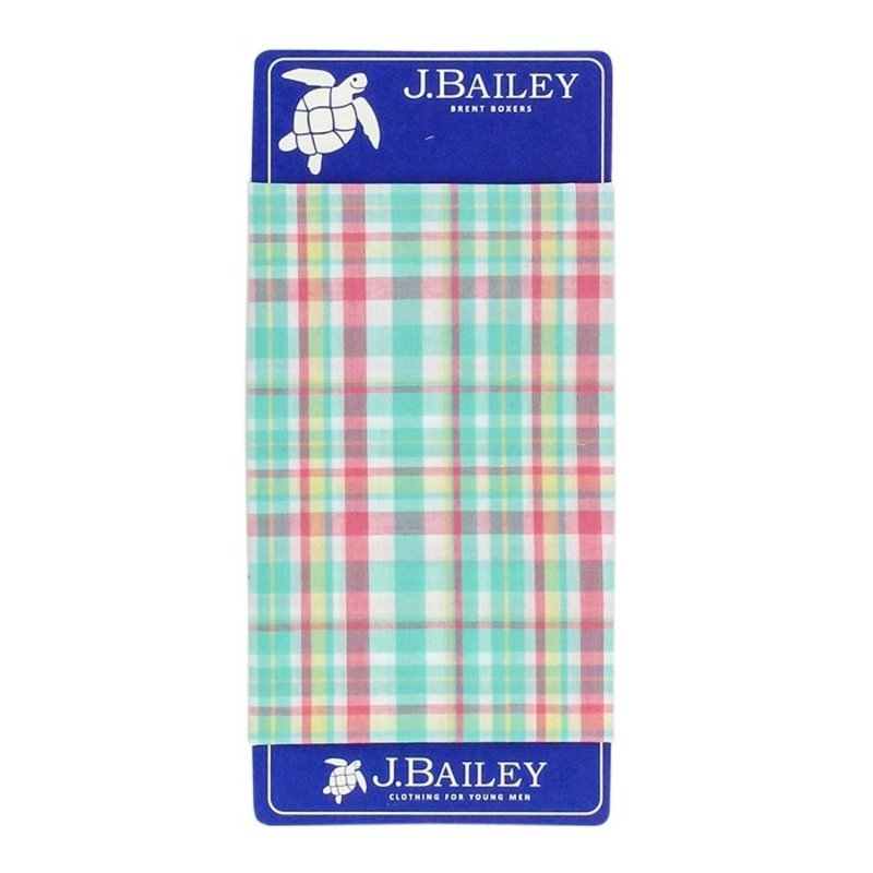 J.BAILEY BOXER- MEADOW PLAID