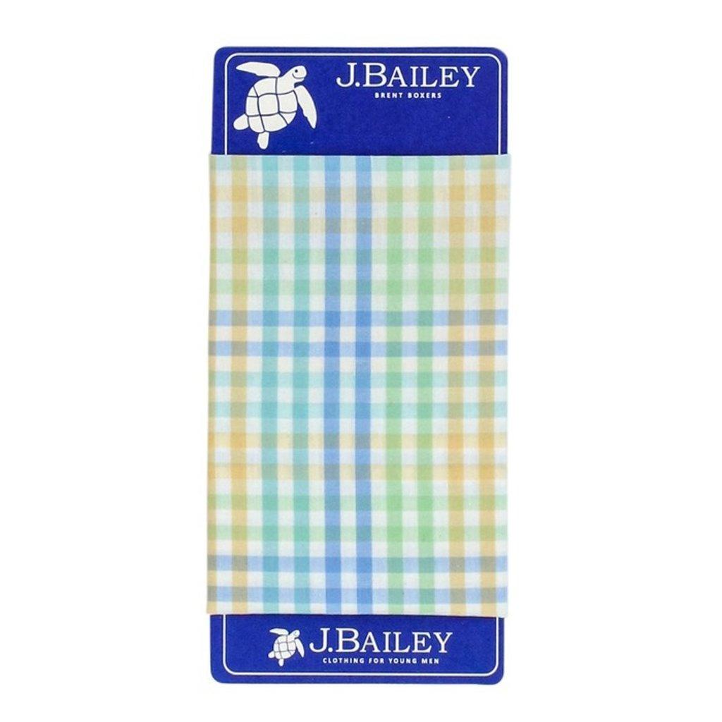 J.BAILEY BOXER- PIER PLAID