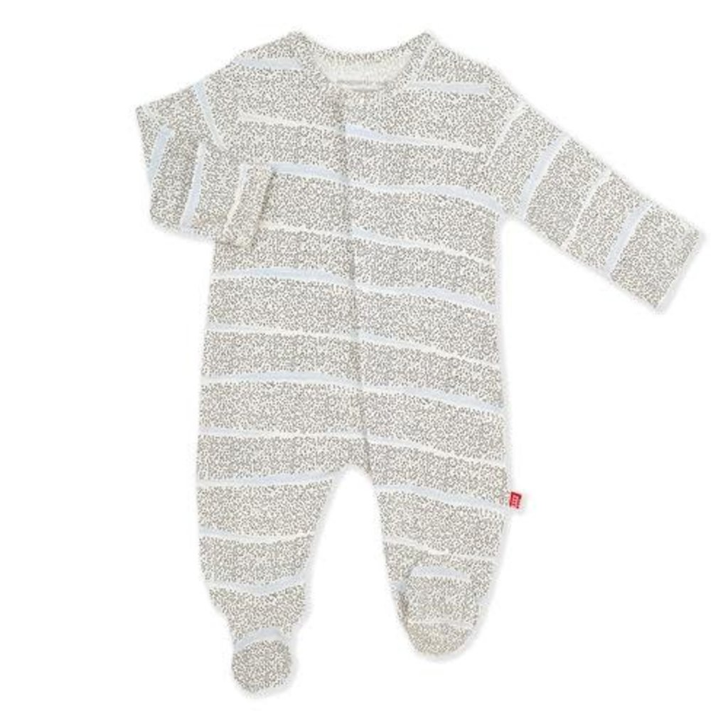 MAGNIFICENT BABY PEBBLE BEACH MODAL MAGNETIC FOOTIE