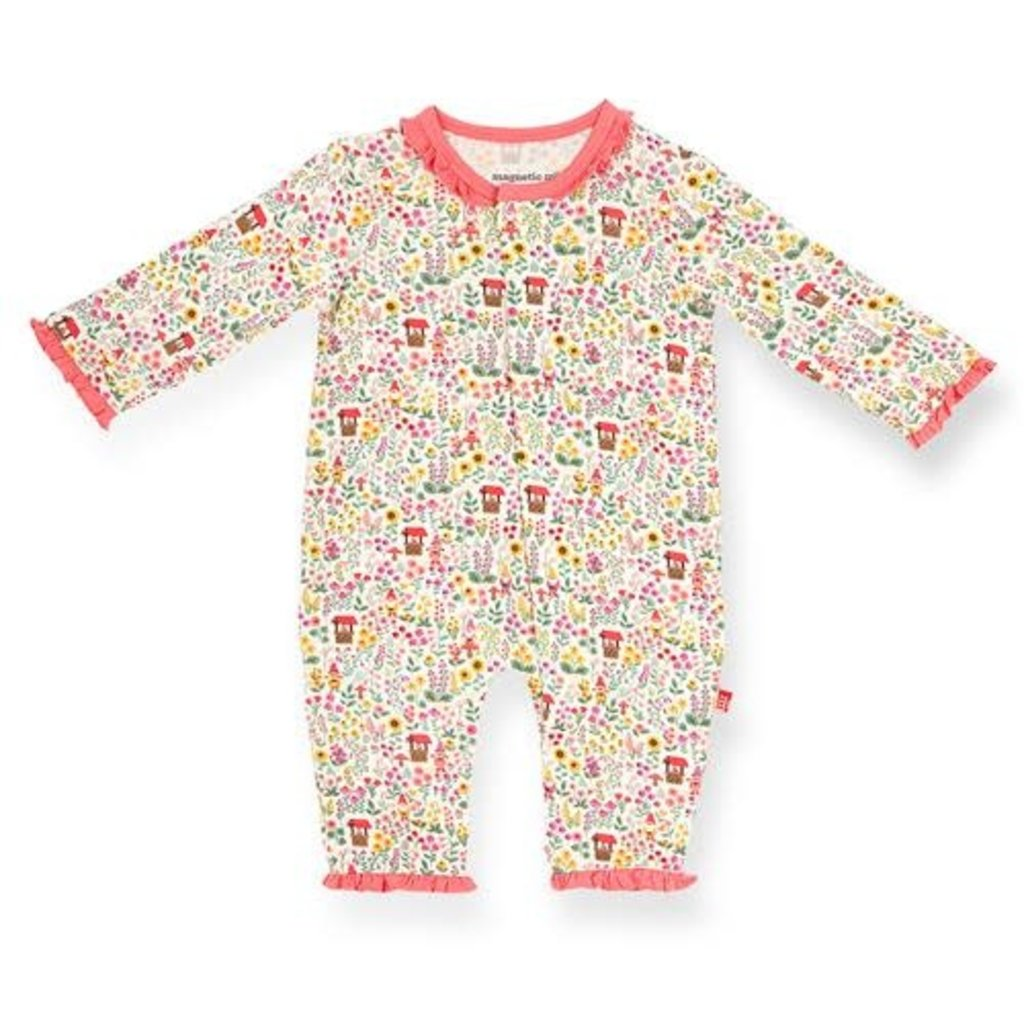 MAGNIFICENT BABY GNOME SWEET GNOME MODAL MAGNETIC COVERALL
