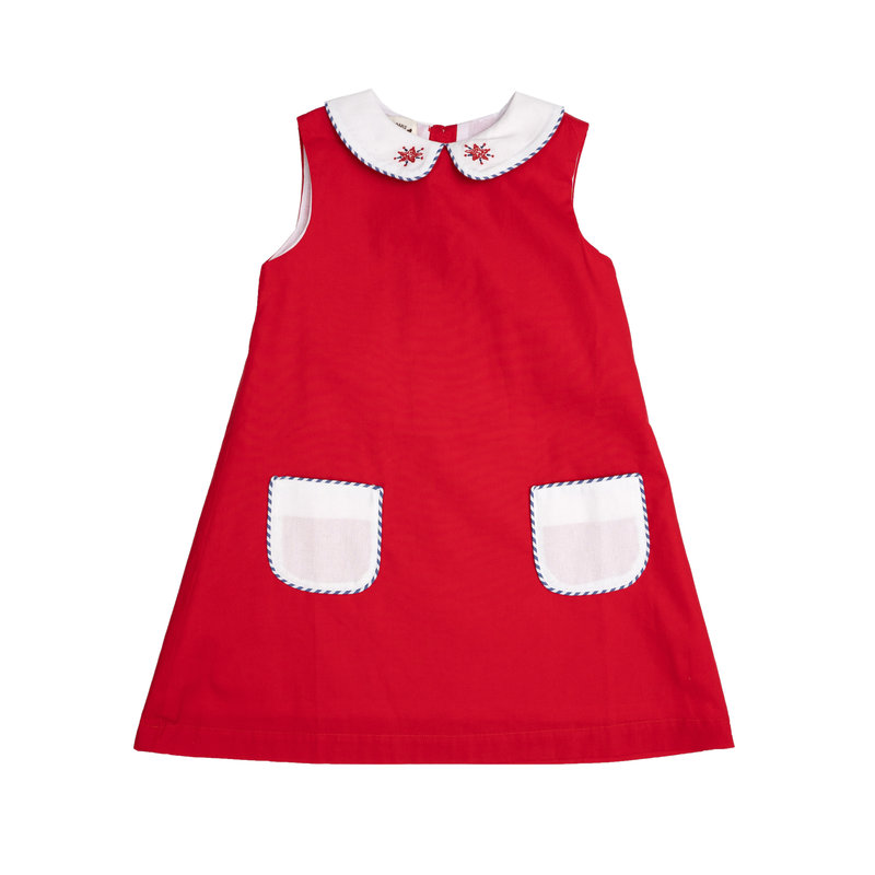 THE OAKS APPAREL COMPANY MARLEY FIRECRACKER DRESS