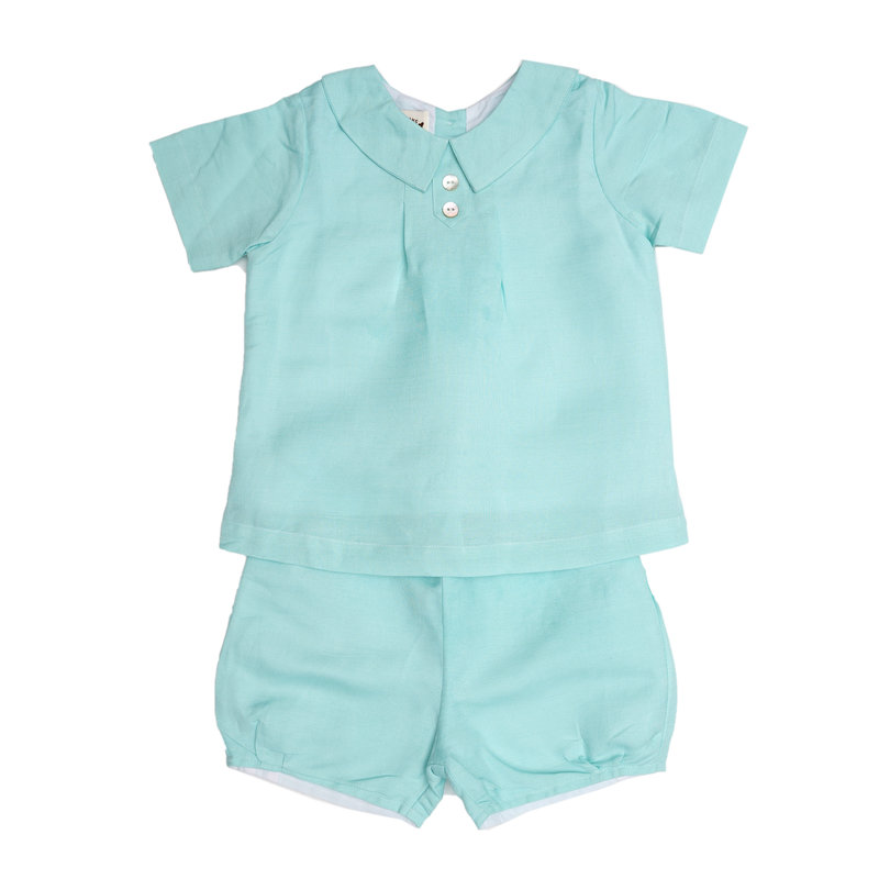 THE OAKS APPAREL COMPANY JOSEPH AQUA BOY SET