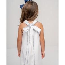 THE OAKS APPAREL COMPANY COLLINS WHITE BOAT DRESS