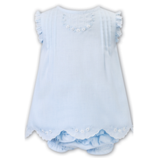 SARAH LOUISE BLUE DRESS & PANTY