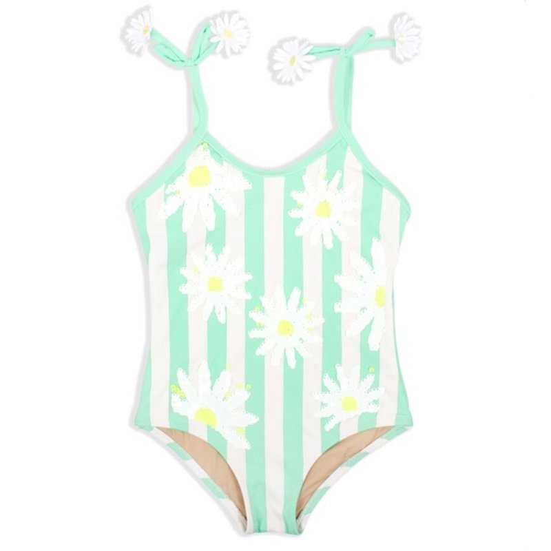 SHADE CRITTERS MAGIC SEQUIN 1PC- STRIPED MINT DAISY