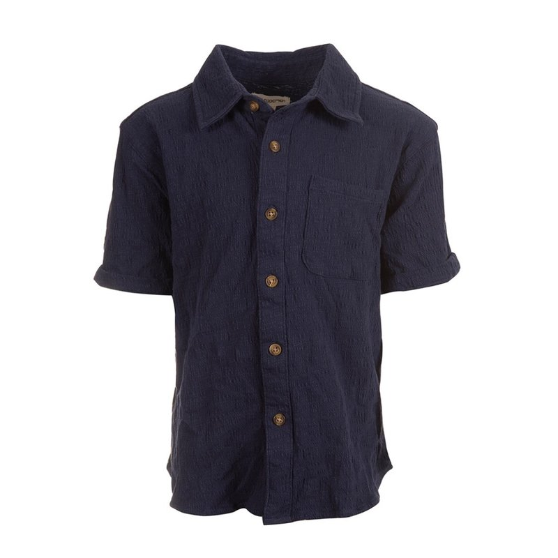 Appaman NAVY BLUE BEACH SHIRT