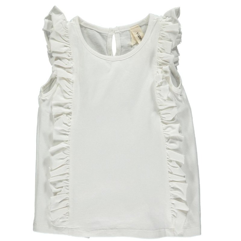 VIGNETTE PIPPIN TANK- IVORY