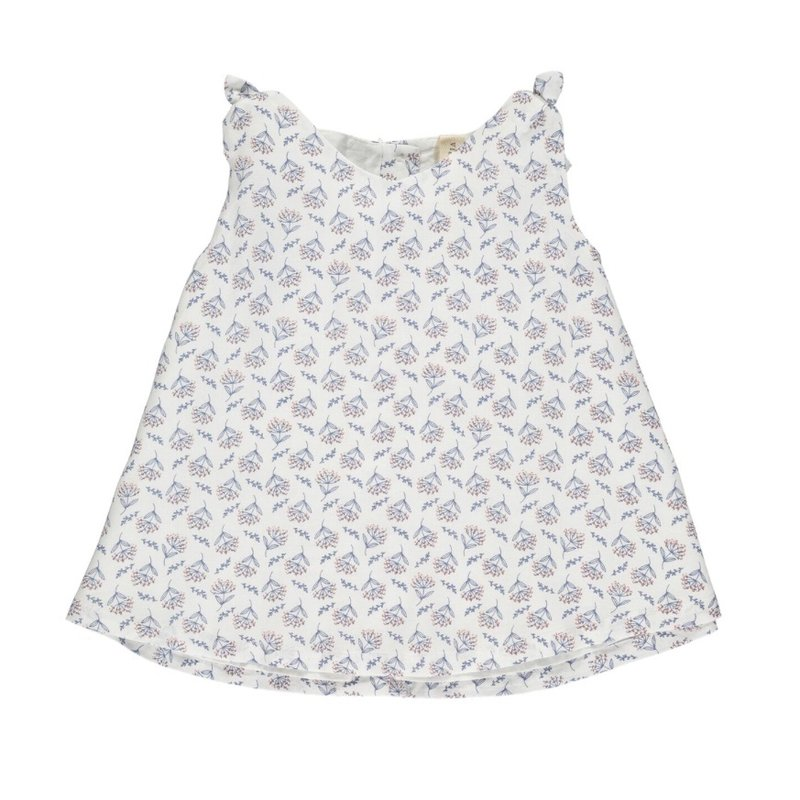VIGNETTE CLOVER TOP- CREAM FLORAL