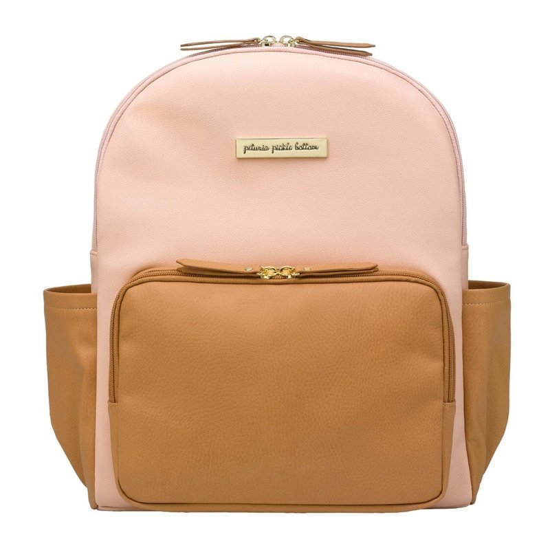PETUNIA PICKLE BOTTOM DISTRICT BACKPACK- BLUSH CAMEL