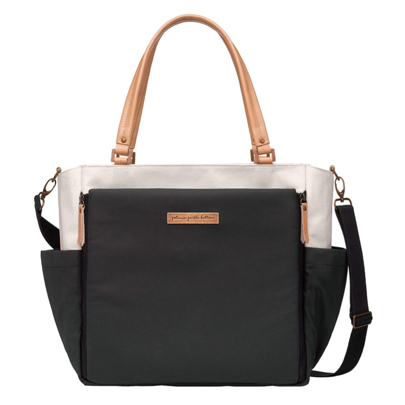 PETUNIA PICKLE BOTTOM CITY CARRYALL - BIRCH/BLACK