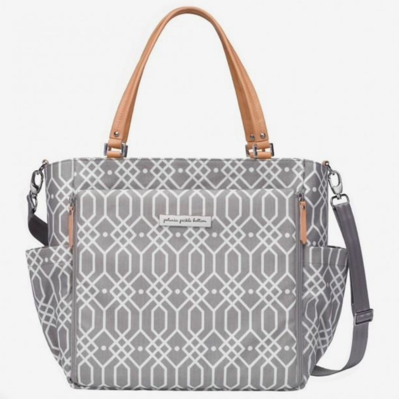 PETUNIA PICKLE BOTTOM CITY CARRYALL - QUARTZ