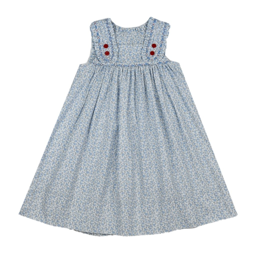 LULLABY SET FRANCES FLAP DRESS- KEEP BLOOMING
