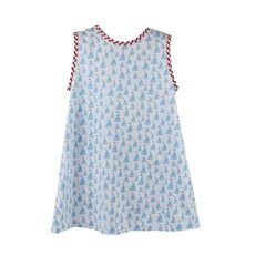 LULLABY SET ANN DRESS- ANCHORS AWEIGH