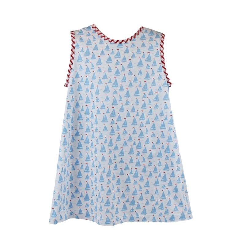 LULLABY SET ANN DRESS- ANCHORS AWEIGH